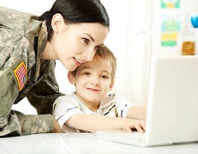 Many online universities offer special programs for military servicemembers and their spouses.