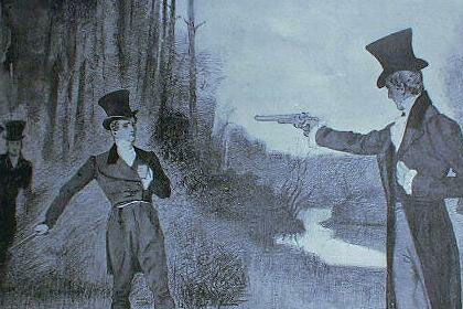 In 1806 on this day thirty-nine year old Carolinian Andrew Jackson was shot dead in a duel with a fellow planter and expert marksman called Charles Dickinson (because dueling was outlawed in Tennessee, the two men travelled to Adairville in the Kentucky border area). Dickinson had accused Jackson of welshing on a horse-racing bet and then called his wife a bigamist because she had married Jackson unaware that her first husband had not finalized the divorce.